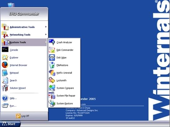 erd commander iso for windows 8