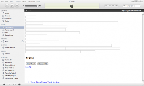 Attached Image: itunes window.PNG