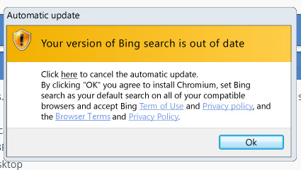 Help removing unwanted Chromium/Bing program [Solved