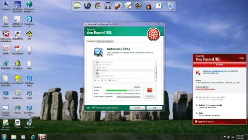 Attached Image: Screen Shot - Kaspersky Stuck & Alarm.jpg