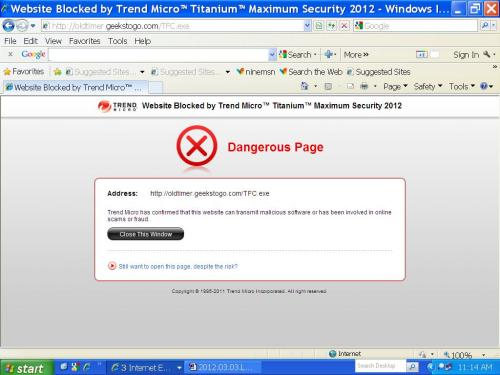 Attached Image: 2012.03.03.Second Time Dangerous Page.JPG