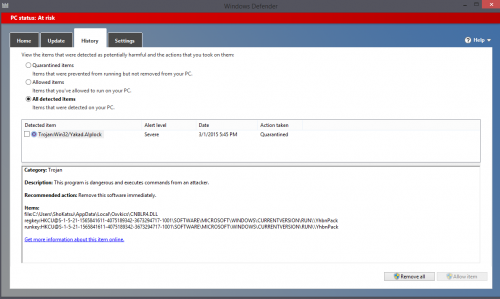 New malware detected.png