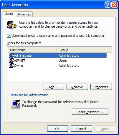 User Accounts. Administrator.JPG
