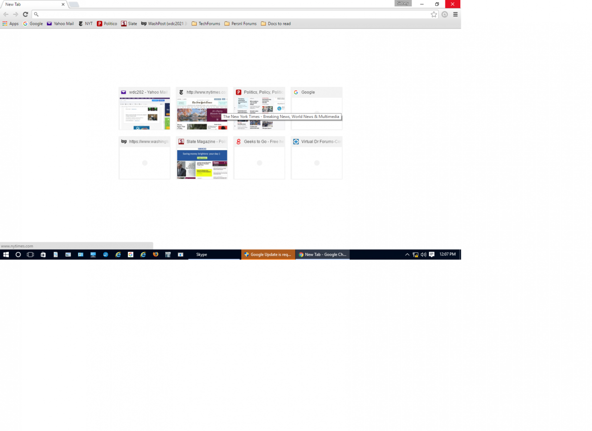 how to find toolbar in chrome