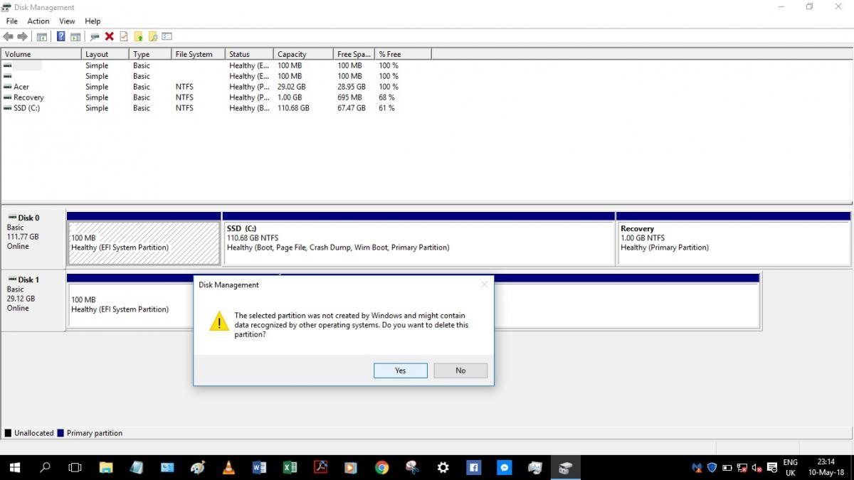 Checking before installing SSD in Acer Laptop - Page 3