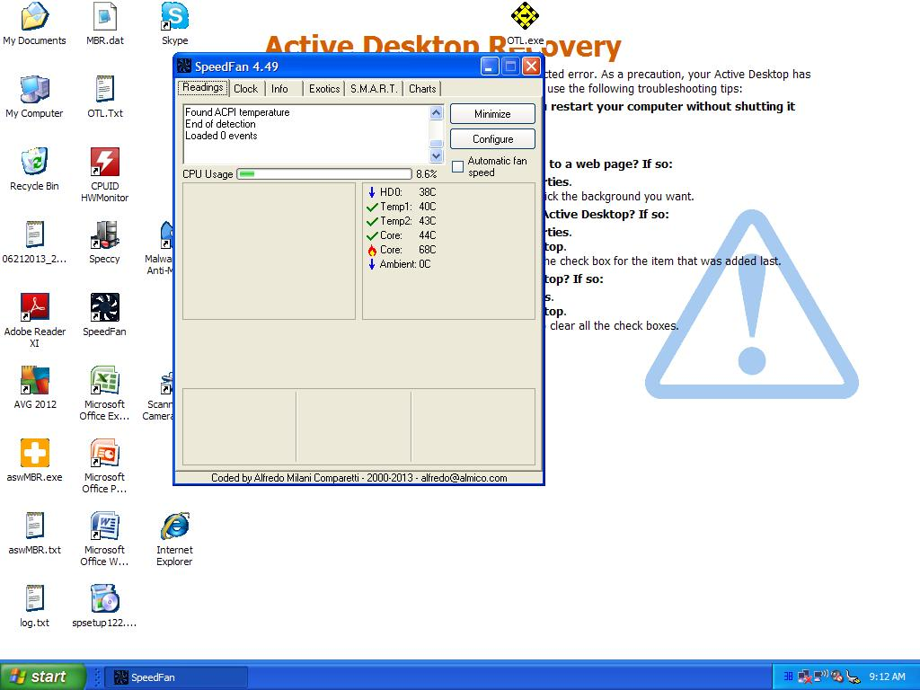 problems of malware and start up [Closed] - Page 2 - Virus