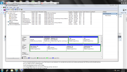 how to delete a system reserved partition in windows 7
