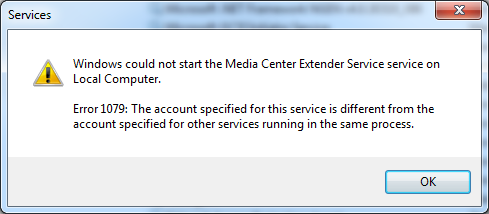 Windows Media Center - Unable to find extender - Applications