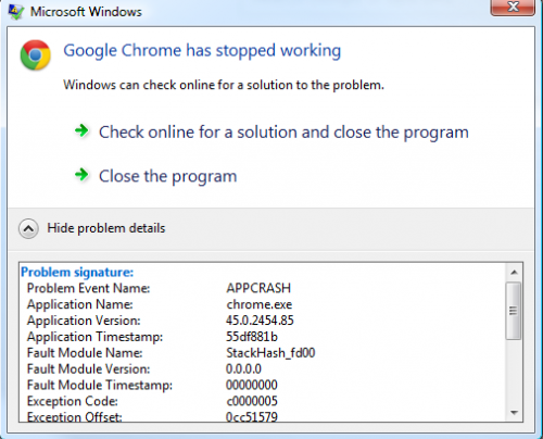 Google Chrome Appcrash.png
