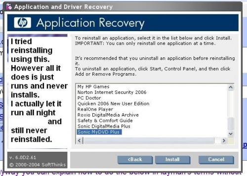 HP application recovery- still doesn't work 10-22-11.JPG