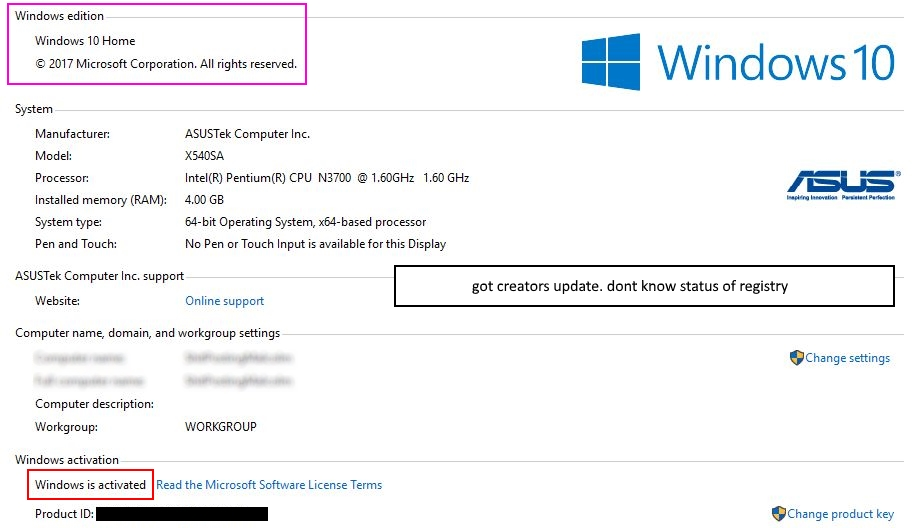 windows 10 would not activate [Solved] - Virus, Spyware