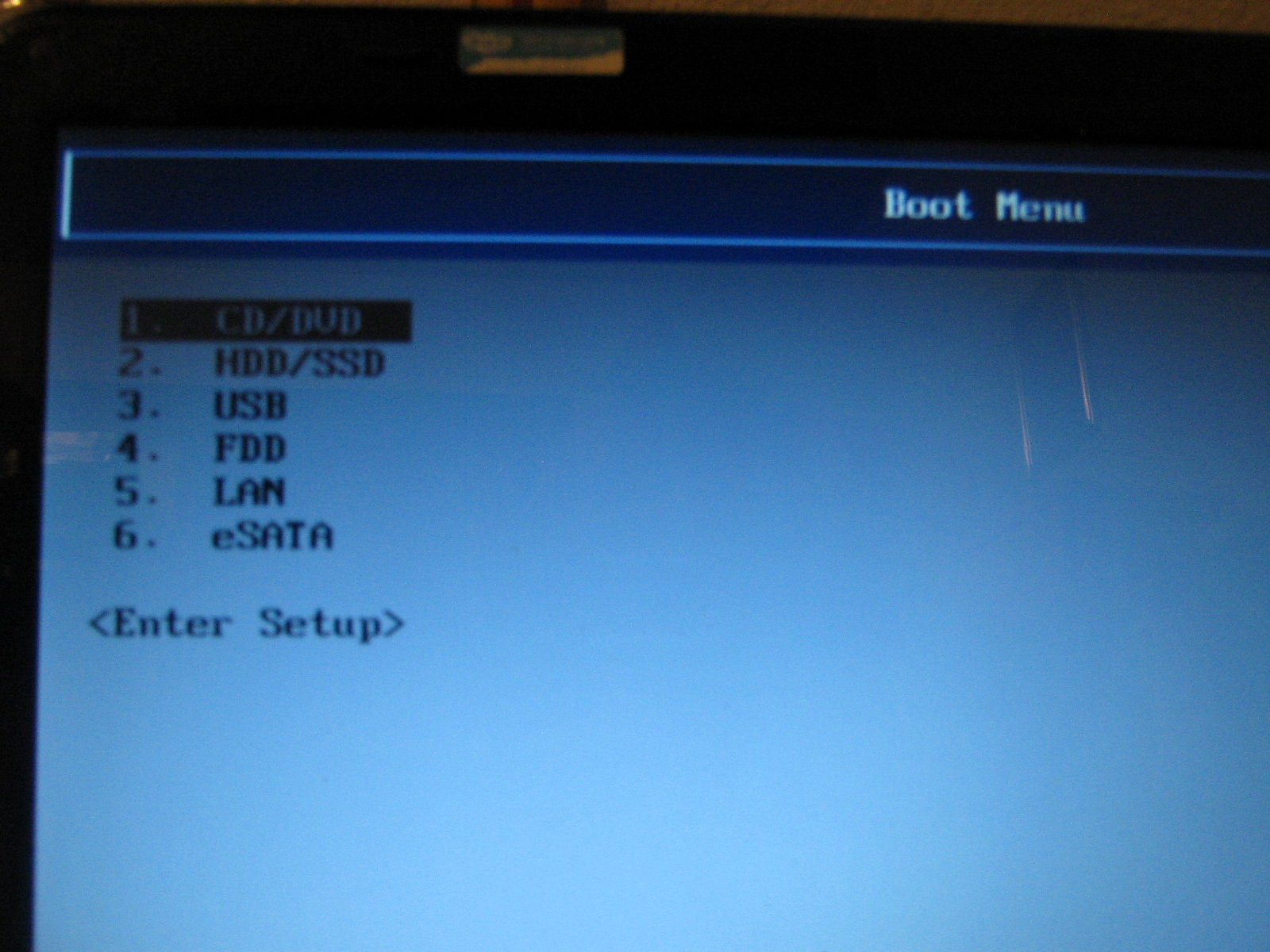 bootable device