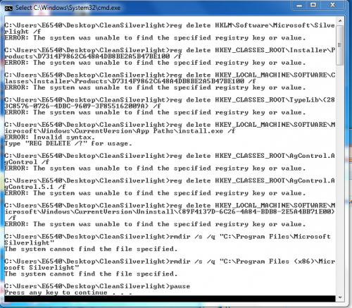 After running Silverlight.PNG